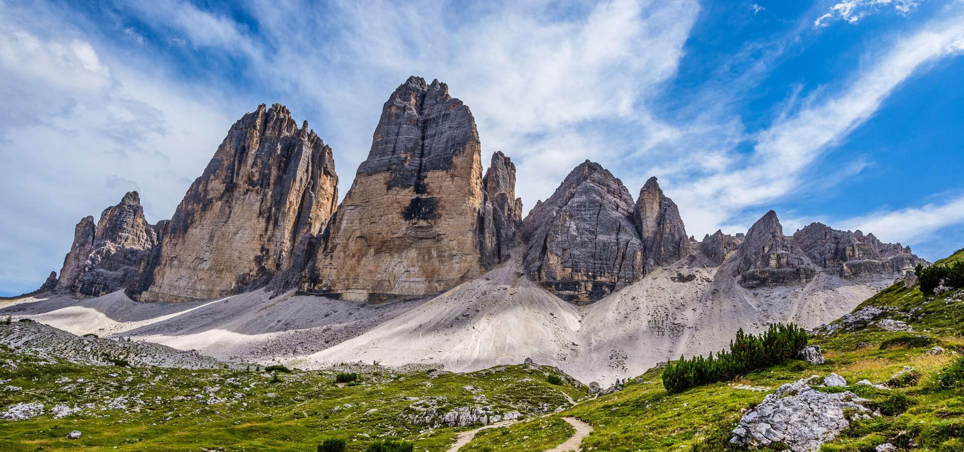 schnelle Farbe große sorten beste Seite The Dolomites' Three Peaks